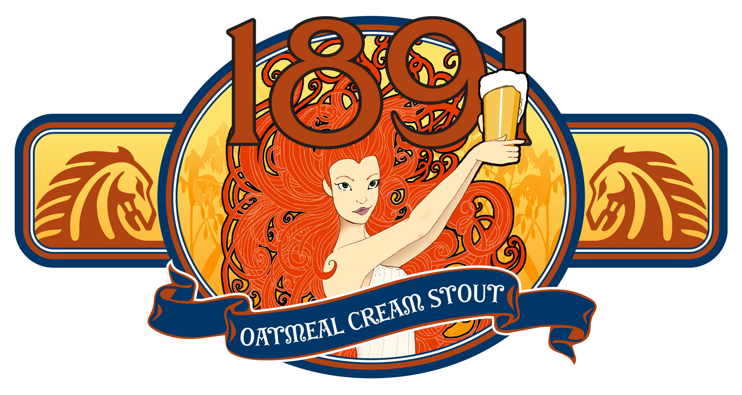 Phantom Horse Brewery's 1891 Oatmeal Cream Stout